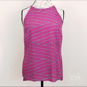 Ambar pink and gray halter top. Medium